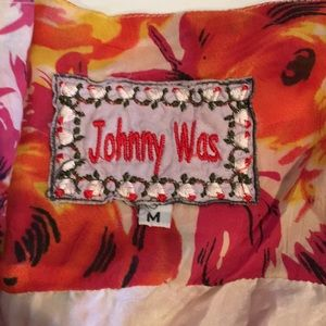 Johnny Was Dresses - Johnny Was Boho Floral Dress Embroidered M